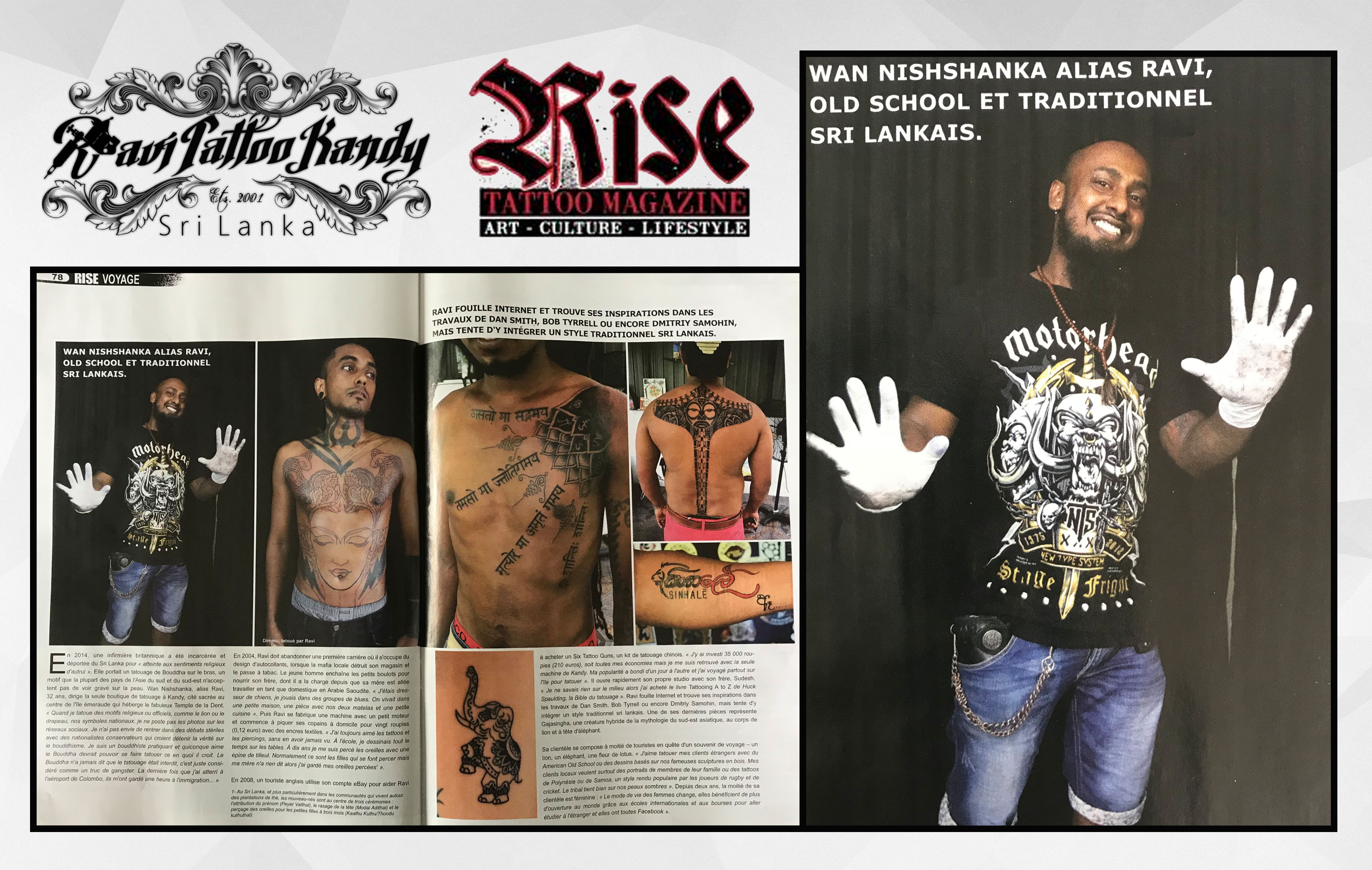 9175d23d0 Weekend Nation Article · Rise Tattoo Magazine Article
